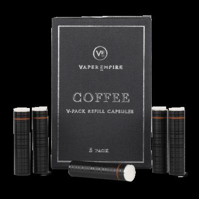 V-Pack II - Coffee Cartomiser (5-Pack)