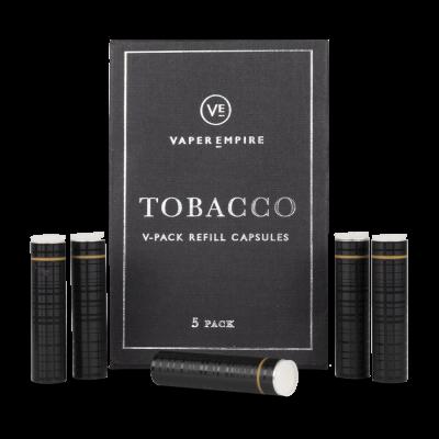 Vaper Empire V-Pack II Cartomiser 5-Pack - Tobacco